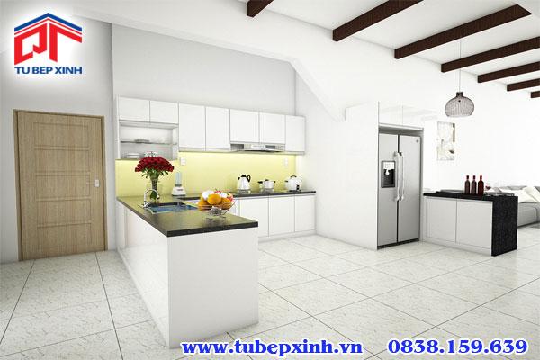 Tủ bếp chữ U BC30