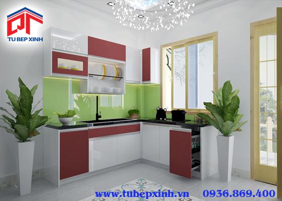 Mẫu tủ bếp - TBX105