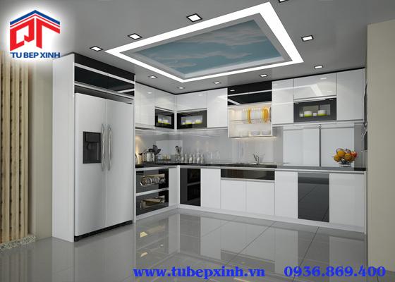 Mẫu tủ bếp - TBX106