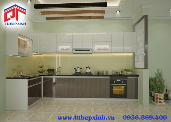 Mẫu tủ bếp - TBX113