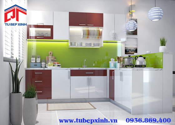 Mẫu tủ bếp - TBX122