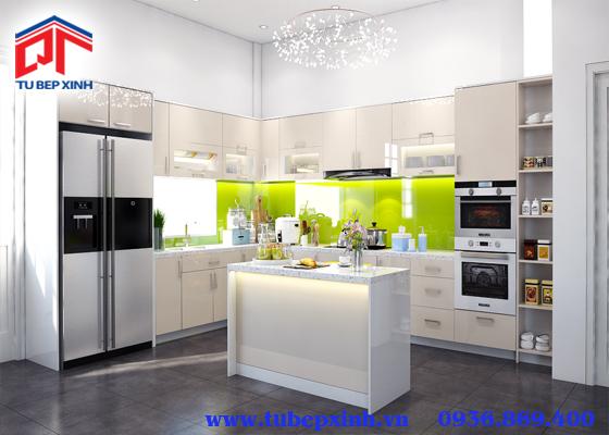 tủ bếp gỗ - TBX124
