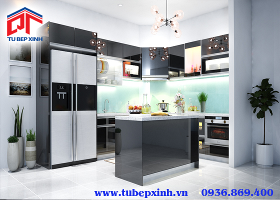 Tủ bếp chữ L - TBX130