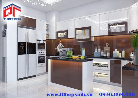Mẫu tủ bếp đẹp - TBX133