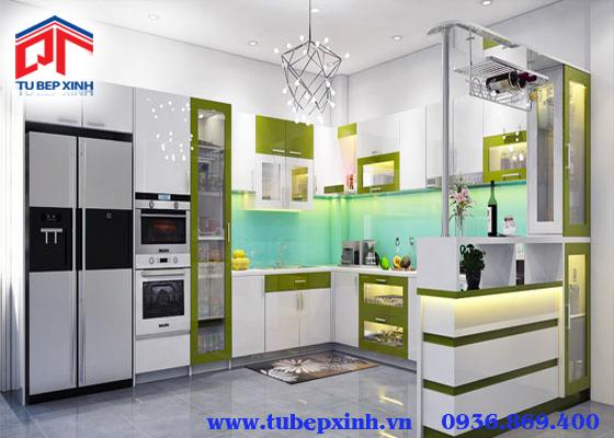Tủ bếp đẹp - TBX097