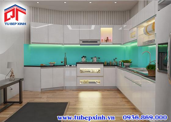 Tủ bếp gỗ - TBX098