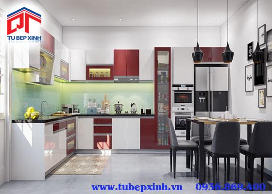 Tủ bếp hiện đại - TBX099